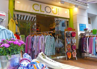 Clou-Fashion Eckernfoerde-Shop von aussen